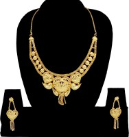 Ada Jewel Maharani Necklace Zinc Jewel Set Gold