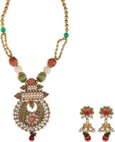 Fabroop Fashion Alloy Jewel Set Green