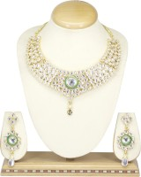 Saiyoni Austrian Zinc Jewel Set White