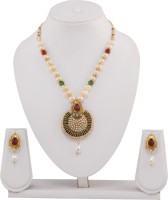 Neelam Mala Alloy Jewel Set Gold