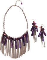 Ajara Joyful Alloy Jewel Set Purple