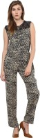Golden Couture Printed Women's Jumpsuit