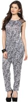 Glam & Luxe Graphic Print Women's Jumpsuit