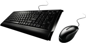 a21b30a0d1d Amkette Multimedia RX3 PS/2 Keyboard Black - Rs 234 - RStore.in