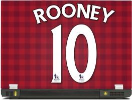 SkinShack New 3D Wayne Rooney No 10 (10.1 inch) Vinyl Laptop Decal
