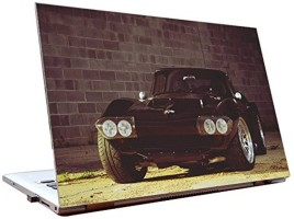 Dealmart Chevrolet Corvette - Retro - Hd Quality Vinyl Laptop Decal