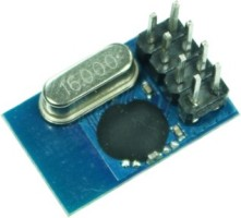 Robomart Dip Nrf24l01 Wireless Data Transmission Module Blue, Black