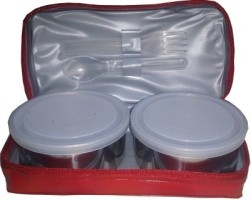 Milton Mini Red 2 Containers Lunch Box