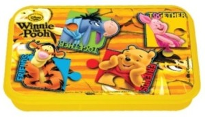 Disney Winnie the Pooh Plastic Lunch Box Set of 1 Multcolor  sc 1 th 169 & Lunch Boxes Aboutintivar.Com