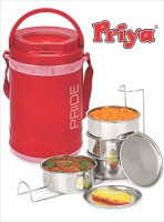 Priya Pride 4 Containers 4 Containers Lunch Box
