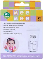 MEE MEE PRE STERILISED BREAST MILK STORAGE BAGS (25 PCS)