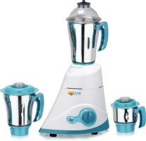 Lime Pearl 750 W Mixer Grinder White & Green, 3 Jars