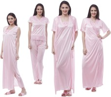 Se Deplace Women's Night Dress Long Robe II Nighty II Top II Pajama