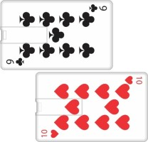Printland Set of 2 Playing Card PC89670 8 GB Pen Drive