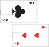 Printland Set of 2 Playing Card PC89662 8 GB Pen Drive