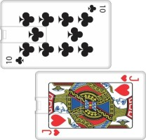 Printland Set of 2 Playing Card PC89671 8 GB Pen Drive