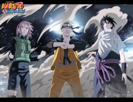 Naruto Team 7 Photographic Paper Medium, Rolled