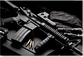 Amy Machine Gun Bullet 3D Poster