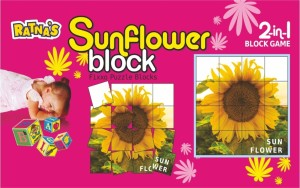 Ratnas Sunflower Block 16 Pieces