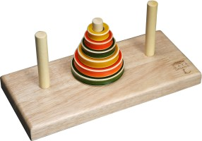 Maya Organic Tower Of Hanoi Puzzle 1 Pieces