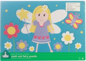 Early Learning Centre Push Out Fairy Puzzle 6 Pieces