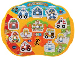 Vtech Learning City Puzzle