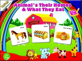 Ratnas Animals Their Home And What They Eat 63 Pieces