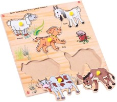 Skillofun Common Animals 10 Pieces