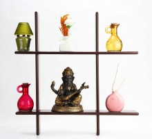 Sajja Craft 2 - Shelf Rack Wooden