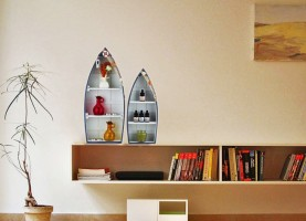 JB Collection 2 - Shelf Rack Wooden