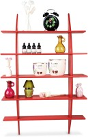 Sajja Craft 5 - Shelf Rack Wooden