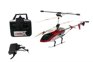 Toy Mall Super Gyro Helicopter Maroon