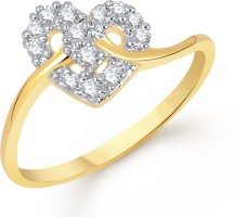 VK Jewels Alloy Cubic Zirconia Ring