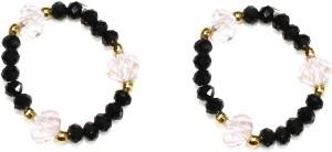 Zaveri Pearls Fancy Crystal Pearl Toe Ring Set