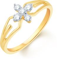 Karatcraft Primavera Yellow Gold Diamond 18 K Ring