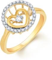 Karatcraft Intima Yellow Gold Diamond 18 K Ring