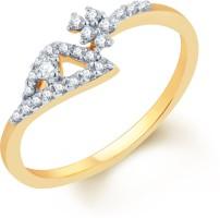 Karatcraft Fragilis Yellow Gold Diamond 18 K Ring