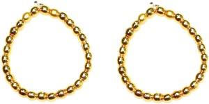 Zaveri Pearls Gold Plated Crystal NA Toe Ring Set