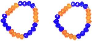 Zaveri Pearls Exotic Crystal Crystal Toe Ring Set