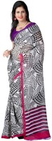 Divine Fab Printed Fashion Georgette Sari