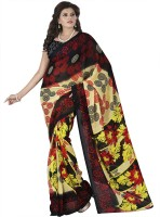 Heena Geometric Print Bollywood Georgette Sari