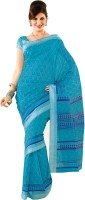 Rajguru Printed Daily Wear Machine Chanderi Sari