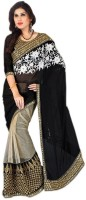 Radhe Fabrics Embriodered Bollywood Georgette Sari