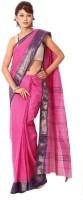 Subhra Garment Solid Tangail Handloom Cotton Sari