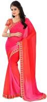 Abhinetri Sarees Embriodered Fashion Georgette Sari