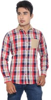 Evith Men's Checkered Casual Shirt