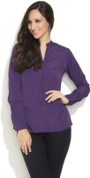 Femella Women's Solid Casual Shirt