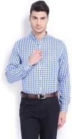 Mark Taylor Men's Checkered Formal Shirt
