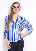Remanika Women's Striped Casual Shirt
