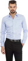 Basics Men's Striped Formal Shirt